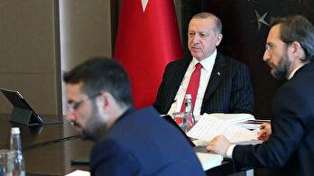 Erdoğan, Dodon ile görüştü