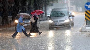 Meteorolojiden dört il için sağanak uyarısı