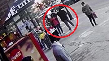 13 yaşındaki çocuğa yumruk attı: Yürüdü gitti