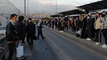 Metrobüs arızası yaşanmayan gün yok