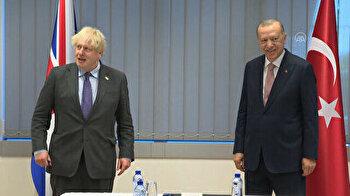 Erdogan meets UK's Johnson at NATO summit