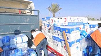 Turkish Red Crescent sends humanitarian aid to Gaza