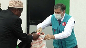 Turkey's Diyanet Foundation provides meat for needy in Ethiopia