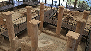 Archaeologists unearth two rock-cut rooms in ancient city of Zeugma