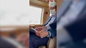 Turkish president visits flood-hit region, vows more aid