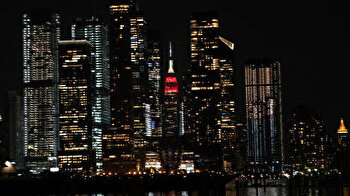 New York City's iconic building shines in honor of nations competing in Tokyo Olympics