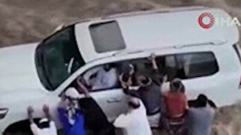 Apocalyptic floods in Saudi Arabia kill three people