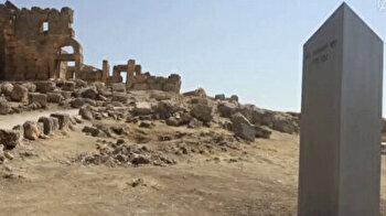 Mysterious monolith reappears in southeastern Turkey