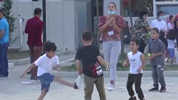 Afghan asylum seekers temporarily housed in Albania hope to reach US and Canada