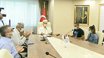 Inspired by Muslims, German man embraces Islam in Turkey
