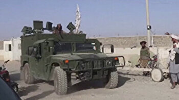 Taliban hold 'military parade' to celebrate victory after US pullout