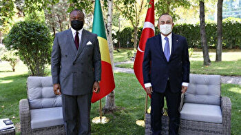 Turkish FM meets Congolese minister in Ankara