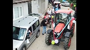 Circumcision spectacle: Turkish farmer celebrates son's milestone with bizarre tractor parade