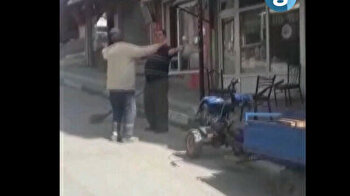 Hips don't lie: Turkish street cleaner busts a move while sweeping