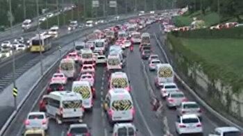 Monday morning traffic jam blues salute Istanbulites