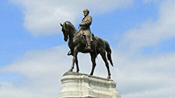 US state of Virginia takes down Confederate statue in capital
