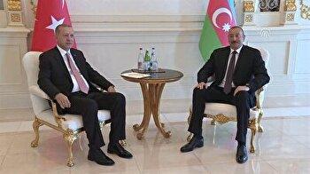 Turkish President Recep Tayyip Erdoğan visits Azerbaijan