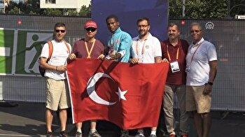 Turkish athlete Jak Ali Harvey wins bronze medal at European Athletics Championships