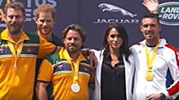 Royal Couple present medals at Invictus Games in Australia