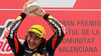 15-year-old Turkish rider becomes youngest Moto3 winner