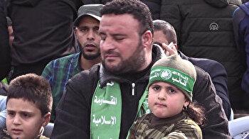 Palestinians mark Hamas' 31st anniversary in Gaza