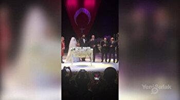 President Erdoğan attends wedding ceremony of Diriliş Ertuğrul star