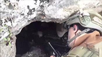 Turkish army destroys 3 PKK shelters in SE