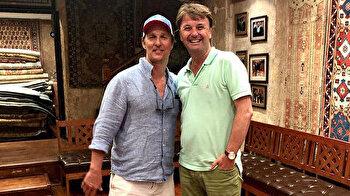 Matthew McConaughey vacations in Turkey's Istanbul