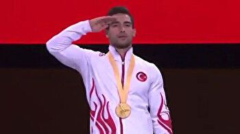Turkey bag first gold medal in Artistic Gymnastics WC