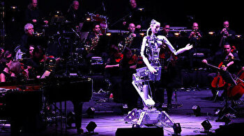 Music by numbers? Robot conducts human orchestra