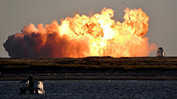 SpaceX Starship rocket explodes on landing after test flight