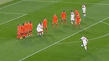 أقوى ركلة حرة.. اللاعب التركي