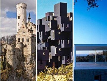Edebi eserlerden ilham alınarak inşa edilmiş 8 mimari yapı.
