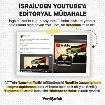israilden-youtubea-editoryal-mudahale