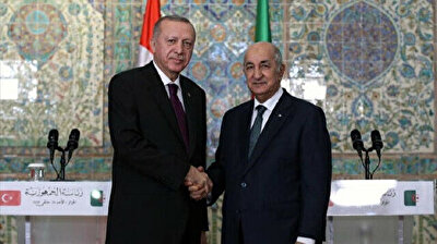 Turkish, Algerian presidents discuss developments in Tunisia on phone