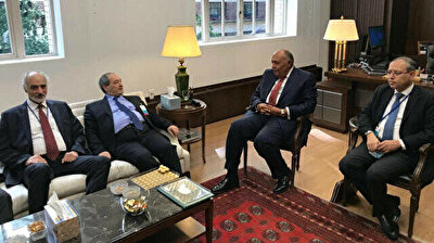 Egyptian, Syrian foreign ministers have first meeting in 10 years in New York