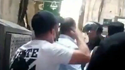 Palestinian youth defies Israeli soilder: 'Put your weapon down and face me like a man!'