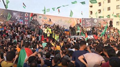Gaza: Thousands celebrate cease-fire between Israel and Hamas