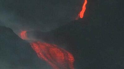 Guatemalans pray as Pacaya volcano erupts all around them
