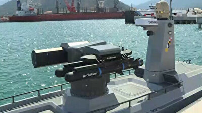 Turkey's first armed unmanned surface vessel prototype ready for missile launch