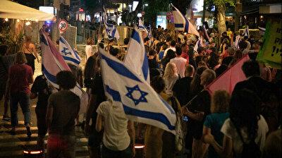 Thousands in Tel Aviv cheer end of Netanyahu's long rule
