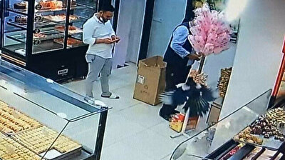 Uninvited guest storms bakery in Turkey