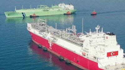 Turkey's first FSRU vessel 'Ertugrul Gazi' begins liquefied gas transport from Algeria