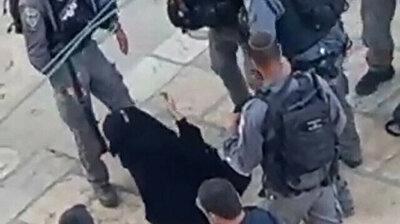 Israeli forces violently arrest Palestinian woman in Jerusalem