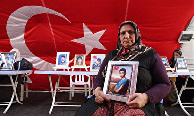 Families in Turkey continue sit-in protest against PKK