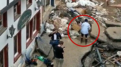 German reporter sacked after smearing mud on herself ahead of flood report