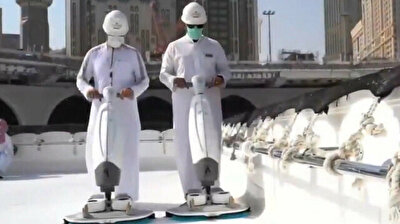Holy Kaaba gets roof cleaning in Mecca ahead of Hajj