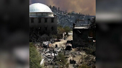 Footage reveals destruction of calamitous forest fires in Turkey
