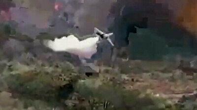 Firefighting plane helps extinguish terrible blazes in Turkey