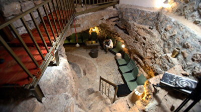 Taste history in every bite in Jordan's 60-million-year-old cave